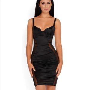 Oh Polly black mini dress